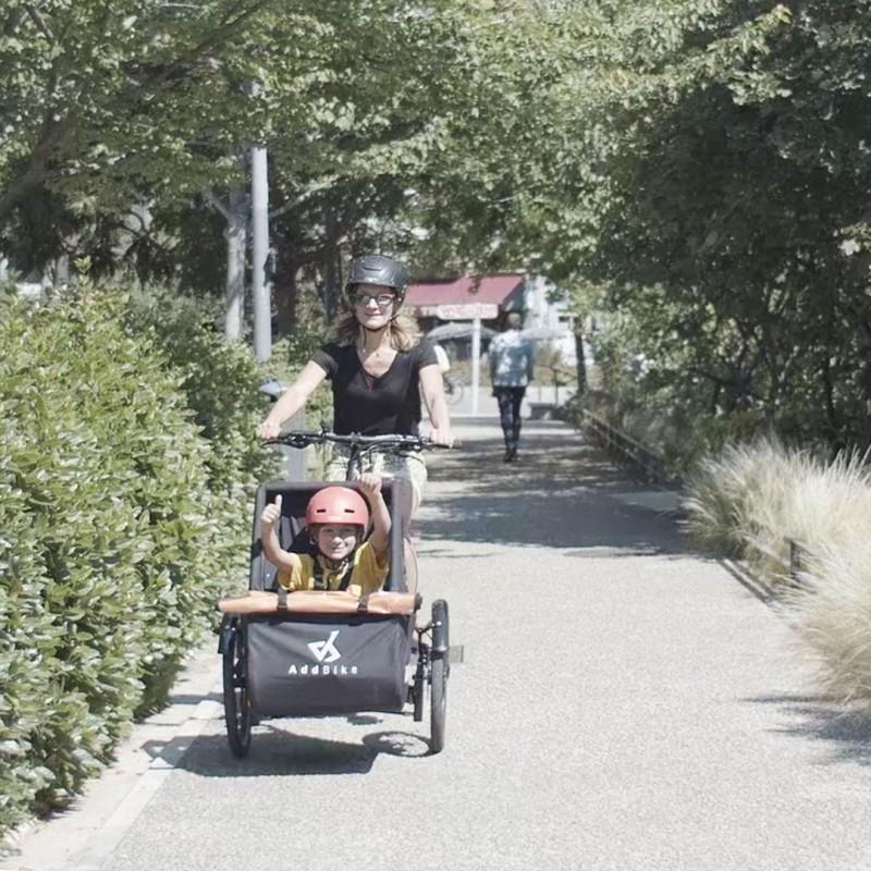 Kit Kid : Vélo transport enfant en toute sécurité