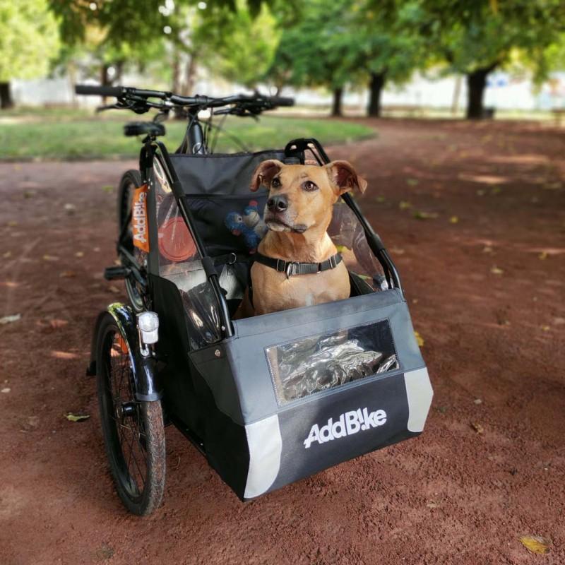 Kit Dog : Transporter son chien à vélo partout, en toute sérénité