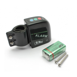 Alarme Vélo - Fixation sur Tube Ø25 à Ø30mm