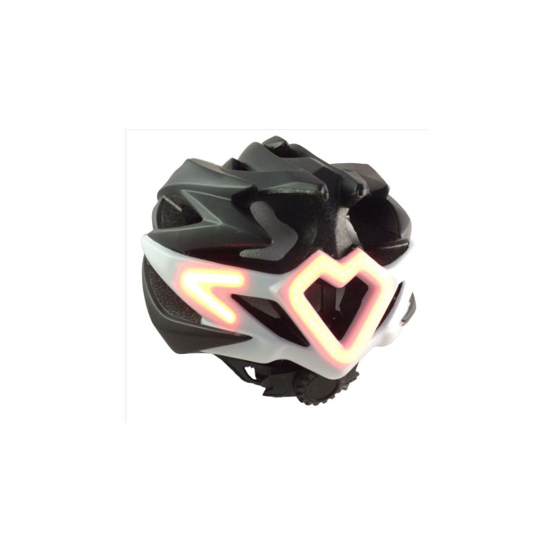 NOMAD LED Casque Clignotant Noir