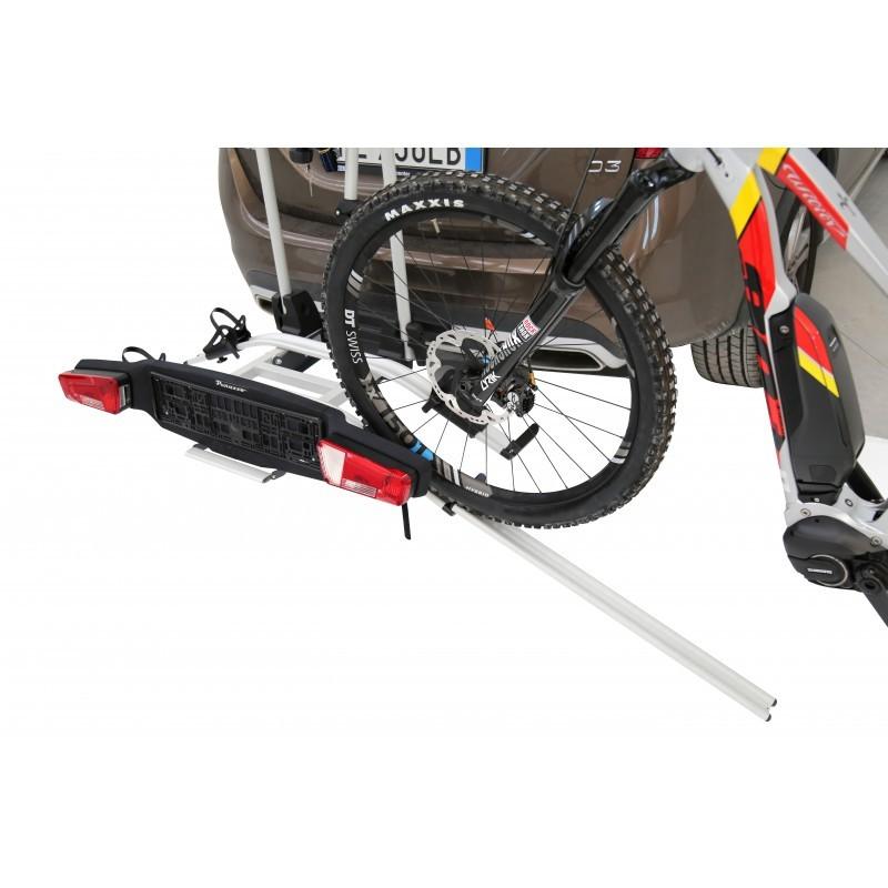 Porte vélo sur attelage E-Bike Zephyr 3 vélos